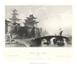 Western Gate, Peking Giclee Print by T. Allom