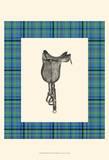 Saddle and Plaid IV Prints