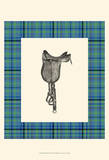 Saddle and Plaid IV Prints by Vision Studio