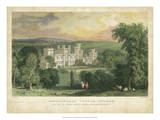 Ravensworth Castle Affiches par T. Allom