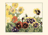 Small Japanese Flower Garden V Prints by Konan Tanigami