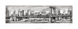 Pen & Ink Cityscape I Limited Edition by Ethan Harper