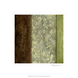 Earthen Textures I Premium Giclee Print by Beverly Crawford