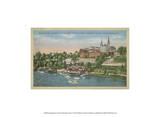 Georgetown from the Potomac River Kunstdrucke