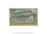 National Archives, Washington, D.C. Print