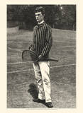 Harper's Weekly Tennis IV Poster