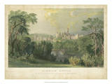 Alnwick Castle Prints by T. Allom
