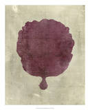 Coral in Plum Giclee Print by  Vision Studio