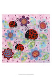 Lady Bugs Prints by Kim Conway