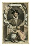 Houbraken Portrait V Giclee Print by J. Houbraken