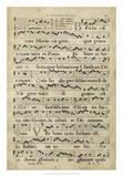 Vellum Songbook IV Giclee Print