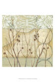 Small Willow and Lace I Print by Jennifer Goldberger