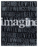 Dream, Imagine II Poster by Deborah Velasquez