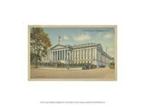 Treasury Building, Washington, D.C. Poster