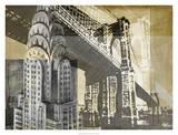 Metropolitan Collage I Giclee Print by Ethan Harper
