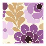 Fuchsia Floral III Giclee Print by Erica J. Vess