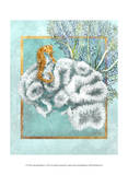Coral and Seahorse Prints by Lori Schory