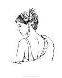 Elegant Fashion Study IV Giclee Print by Ethan Harper