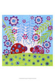 Ladybug Spots Prints by Kim Conway