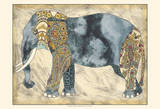 Royal Elephant Art by Chariklia Zarris