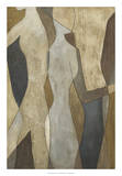 Figure Overlay II Giclee Print by Megan Meagher