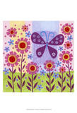 Butterfly Meadow Prints by Kim Conway