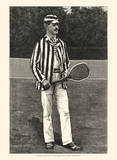 Harper's Weekly Tennis I Posters
