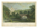 Lambton Castle Affiches par T. Allom