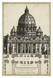 Basilica at the Vatican Posters by G. de Rossi