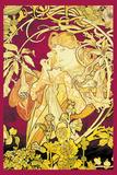 Efeu Plakater af Alphonse Mucha