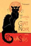 Tournee du Chat Noir Avec Rodolptte Salis Art by Théophile Alexandre Steinlen