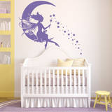 Moon Fairy Wall Decal