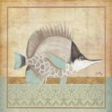 Vintage Fish IV Prints by Elizabeth Medley