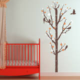 Cherry Blossom Measurement Tree Wall Decal