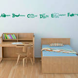 Alphabet Soup (x26) Wall Decal