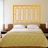 Modern Headboard (Double Bed) Wall Decal