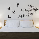 Branches & Birds Wall Decal