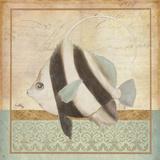 Vintage Fish I Print by Elizabeth Medley