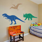 Medium Dinosaurs (Set of 3) Wall Decal