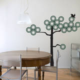 Ring Tree Wall Decal