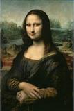 Mona Lisa, c.1507 Poster af Leonardo da Vinci