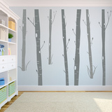 Aspen Woods Wall Decal
