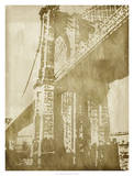 Non-Embellished Bridge Etching I Posters by Ethan Harper