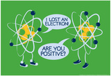 Atoms Lost an Electron Reprodukcje autor Snorg Tees