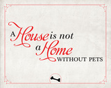 Home without Pets Prints