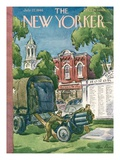 The New Yorker Cover - July 27, 1946 Premium Giclee Print by Alan Dunn
