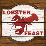 Lobster Feast Print by Gina Ritter