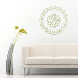 Organic Sound Wall Decal