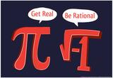 Seja racional, em inglês Poster por  Snorg Tees