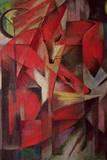 Ræven, 1913 Kunst af Franz Marc